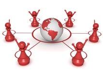 Realização global ilustração stock