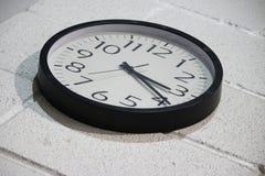 Realiza-se sobre o tempo Foto de Stock
