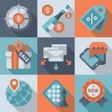 Realización de la meta, márketing, negocio Fotografía de archivo libre de regalías