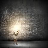 Realización ideas Foto de archivo libre de regalías