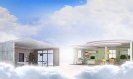 Realize your interior dream. Mixed media . Mixed media Royalty Free Stock Photography