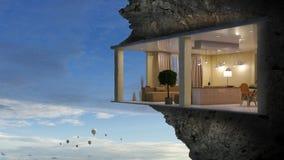 Realize your interior dream. Mixed media . Mixed media Royalty Free Stock Photos