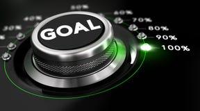 Realizzi gli obiettivi Immagini Stock