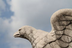 Realm eagle statue Stock Photos