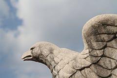 Realm eagle statue. A realm eagle in Vittorio Veneto, Treviso, Italy Stock Photos