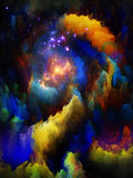 Realms of Fractal Dreams Royalty Free Stock Images