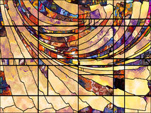 Realms of Leaded Glass Stock Images