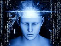 Realms of the Mind Stock Image