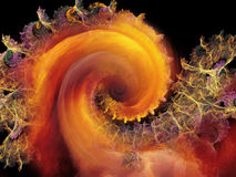 Realms of Spiral Pattern Stock Photos