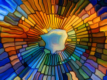 Realms of Stained Glass Royalty Free Stock Photography