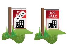 Realstate illustaration Royalty Free Stock Image