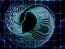 Realtà della geometria di anima Immagine Stock