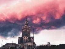 Realtà di Varsavia Immagine Stock