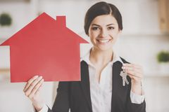 realtor Foto de Stock Royalty Free