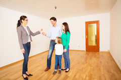 Realtor Giving Customers The Key To Their New Flat Stock Images
