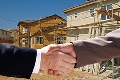 Realtor Handshake Stock Photography