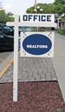 Realtors Sign. Royalty Free Stock Photos