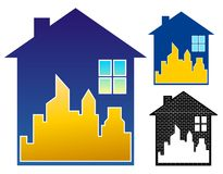 Realty symbol Stock Images