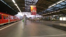 Realway-Station Lizenzfreies Stockbild