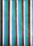 Realy color striped wood texture use as background or backdrop Stock Photo