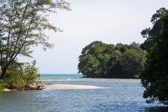 Ream National Park. Hidden paradise in Cambodian ocean coast Royalty Free Stock Photos