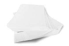 Ream of paper Stock Photography