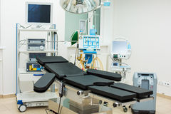 Reanimation ward with modern equipments Royalty Free Stock Images