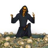 reaper royaltyfri illustrationer
