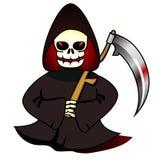 Reaper avec la faux Photo libre de droits