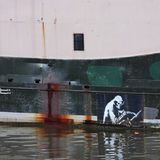 The Reaper by Banksy Royalty Free Stock Image