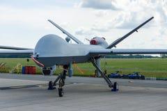 Reaper generale di fisica nucleare MQ-9 del velivolo senza equipaggio di combattimento Fotografie Stock Libere da Diritti