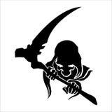 Reaper silhouette Stock Photo