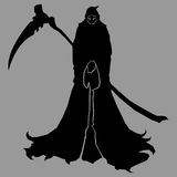 Reaper silhouette Stock Images