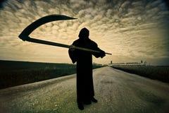 Reaper sinistre image libre de droits