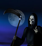 Reaper torvo Fotografie Stock