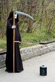 Reaper torvo. fotografia stock libera da diritti
