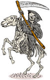 Reaper torvo Fotografia Stock