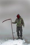 Reaper torvo della guerra e del terrorismo Fotografie Stock Libere da Diritti