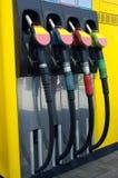 Reaprovisionamiento de combustible Foto de archivo libre de regalías