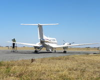 Reaprovisionamiento privado del aeroplano Fotografía de archivo