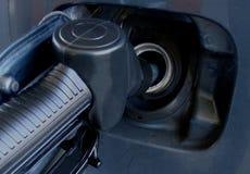 Reaprovisione el tanque de combustible Fotografía de archivo
