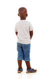 Rear african boy Stock Photo