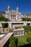 Rear Aspect Of The Monte Carlo Casino Stock Photo