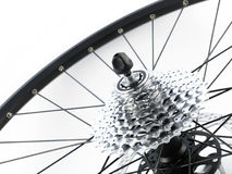 Rear bicycle cog cassette Royalty Free Stock Photos