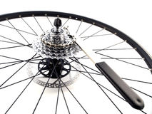 Rear bicycle cog cassette Royalty Free Stock Photography
