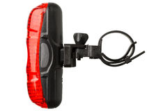 Rear bicycle lamp Stock Image