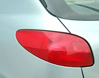 Rear Brake Light Detail Royalty Free Stock Photography