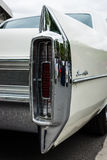 The rear brake lights full-size luxury car Cadillac Sedan De Ville Stock Photography