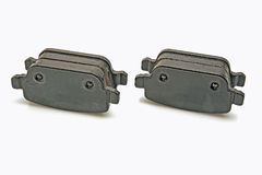 Rear brake pads set Royalty Free Stock Image