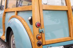 Rear of a British pickup truck royalty free stock image